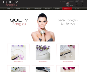 Guilty Bangles Homepage