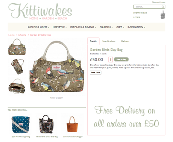 Kittiwakes Product page
